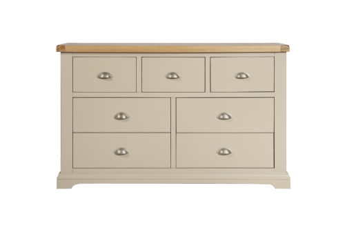 Melbourne Truffle 7 Drawer Merchant Chest